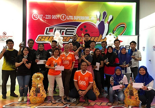 Bowling Championship with GBS ISKANDAR partner companies
